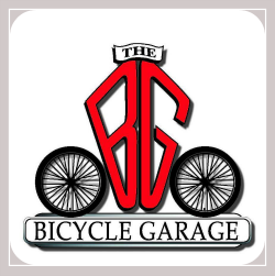 the bicycle garage